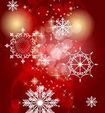 Fond de Noël abstrait de beauté et d'an neuf Photographie stock