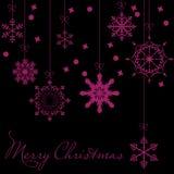 Fond de Noël abstrait de beauté et d'an neuf Image stock