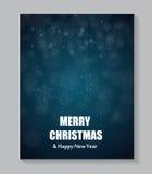 Fond de Noël abstrait de beauté et d'an neuf illustration stock
