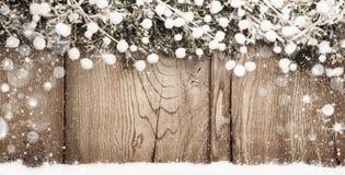 Fond de Noël avec des branches de sapin Photographie stock