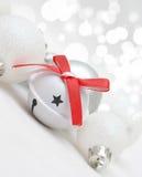Fond de Noël avec des décorations Image libre de droits