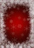 Fond de Noël avec des flocons de neige illustration libre de droits