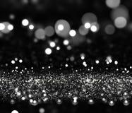 Fond de Noël avec l'effet argenté de scintillement illustration de vecteur