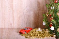 fond de Noël avec l'espace capy Photographie stock libre de droits