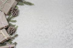 Fond de Noël avec l'espace vide pour le texte photographie stock libre de droits