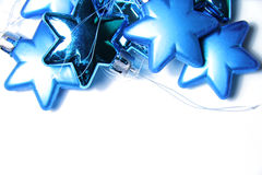 Fond de Noël avec l'ornement en verre photographie stock