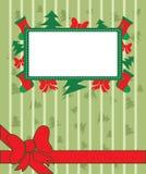 Fond de Noël avec la décoration Image libre de droits