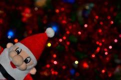 Fond de Noël avec la négligence de Santa Claus photo libre de droits