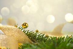Fond de Noël avec le sapin et les programmes Image libre de droits