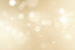 Fond de Noël avec les étincelles brillantes Photos libres de droits