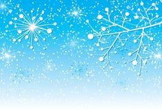 Fond de Noël avec un branchement, vecteur illustration libre de droits