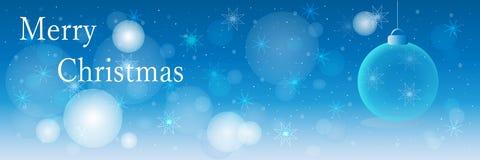 Fond de Noël, bannière Photos stock