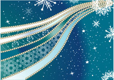 Fond de Noël d'or illustration libre de droits