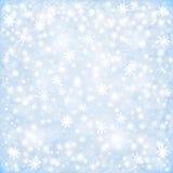 Fond de Noël d'hiver Images stock