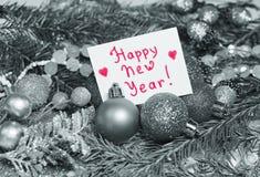 Fond de Noël dans le style de vintage avec une carte pour un inscrip Photo stock