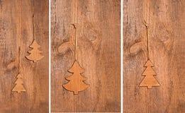 Fond de Noël de collection Photos libres de droits