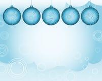 Fond de Noël de lueur Photo libre de droits