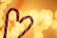 Fond de Noël de sucrerie de Noël Photographie stock