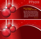 Fond de Noël de vecteur avec la place pour le texte Photos stock