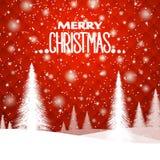 Fond de Noël du ` s de nouvelle année, dans des tons rouges Ornement géométrique Photo stock