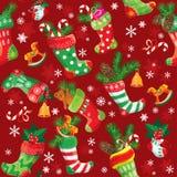 Fond de Noël et de nouvelle année avec des actions de Noël Photos libres de droits