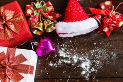 Fond de Noël et de la nouvelle année 2018 Photo stock