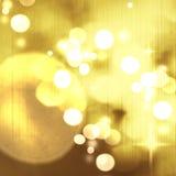 Fond de Noël Fond abstrait de fête avec le def de bokeh Photo libre de droits