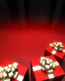 Fond de Noël heureux Images libres de droits