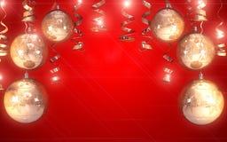 Fond de Noël heureux Photographie stock libre de droits