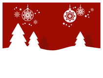 Fond de Noël (ii) Image libre de droits