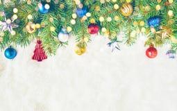 Fond de Noël Joyeux Chrystmas Photos stock
