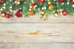 Fond de Noël Joyeux Chrystmas Photo libre de droits