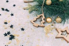 Fond de Noël ou de nouvelle année, photos libres de droits