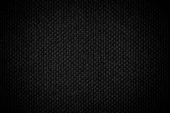 Fond de noir de toile de texture Image stock