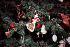 Fond de Noël et de nouvelle année Photos stock