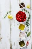 Fond de nourriture Photographie stock libre de droits