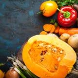 Fond de nourriture d'automne image libre de droits