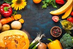 Fond de nourriture d'automne images stock