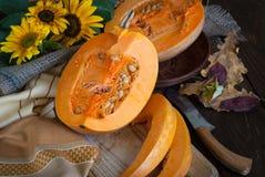Fond de nourriture d'automne Photos stock