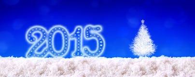Fond 2015 de nouvelle année Photo libre de droits