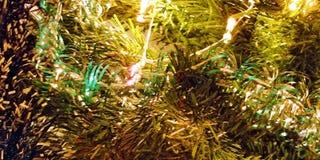 Fond de nouvelle année horizontal Images libres de droits