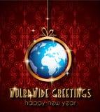 Fond de 2015 nouvelles années et de Noël heureux Photographie stock