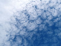 Fond de nuages photo libre de droits