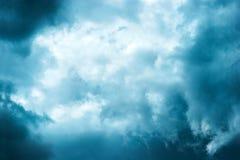 Fond de nuages de tempête Images stock