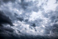 Fond de nuages de tempête Images libres de droits