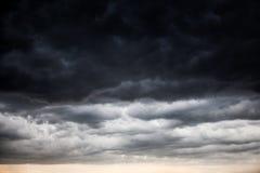 Fond de nuages de tempête Photo libre de droits