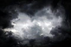Fond de nuages de tempête Photographie stock