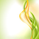 Fond de ondulation abstrait illustration stock