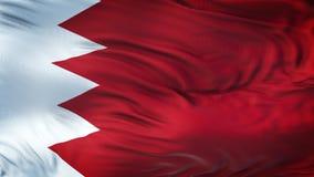 Fond de ondulation réaliste de drapeau du BAHRAIN Photo stock