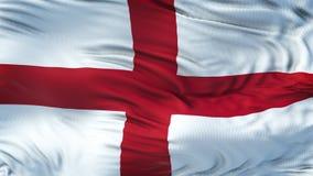 Fond de ondulation réaliste de drapeau de l'ANGLETERRE Photo libre de droits